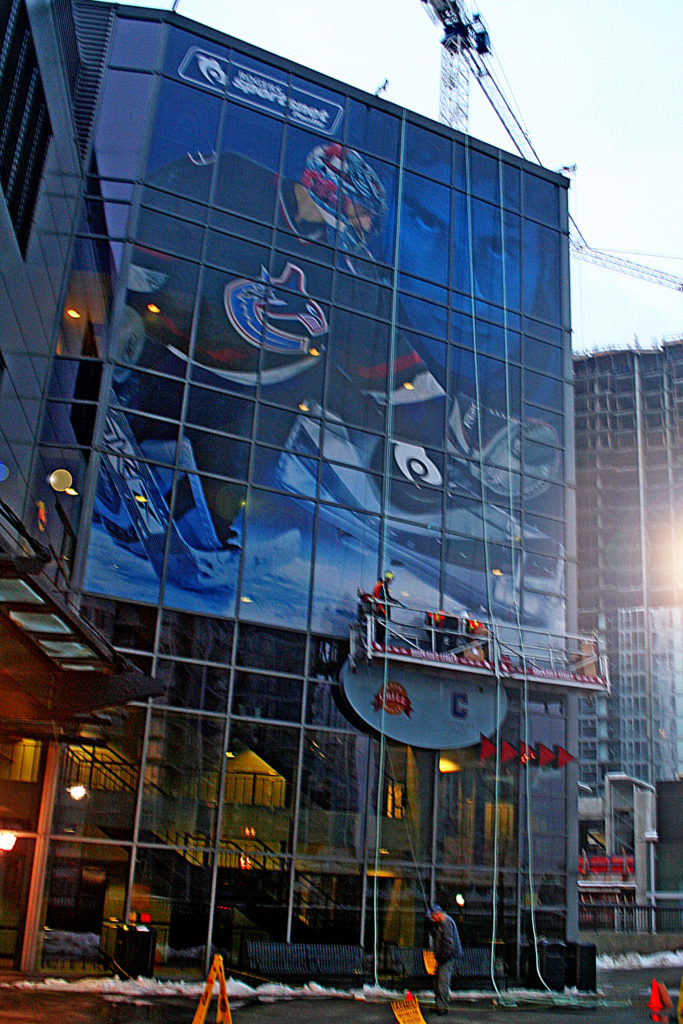 2006 Rogers Arena Wall Mural