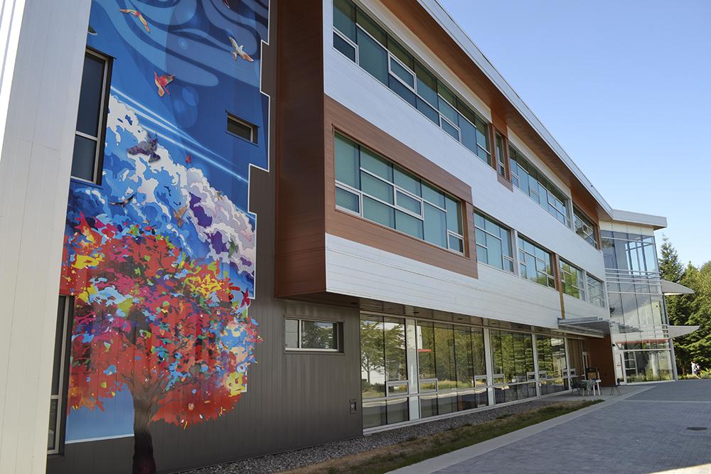 University of the Fraser Valley Exterior Murals 2015