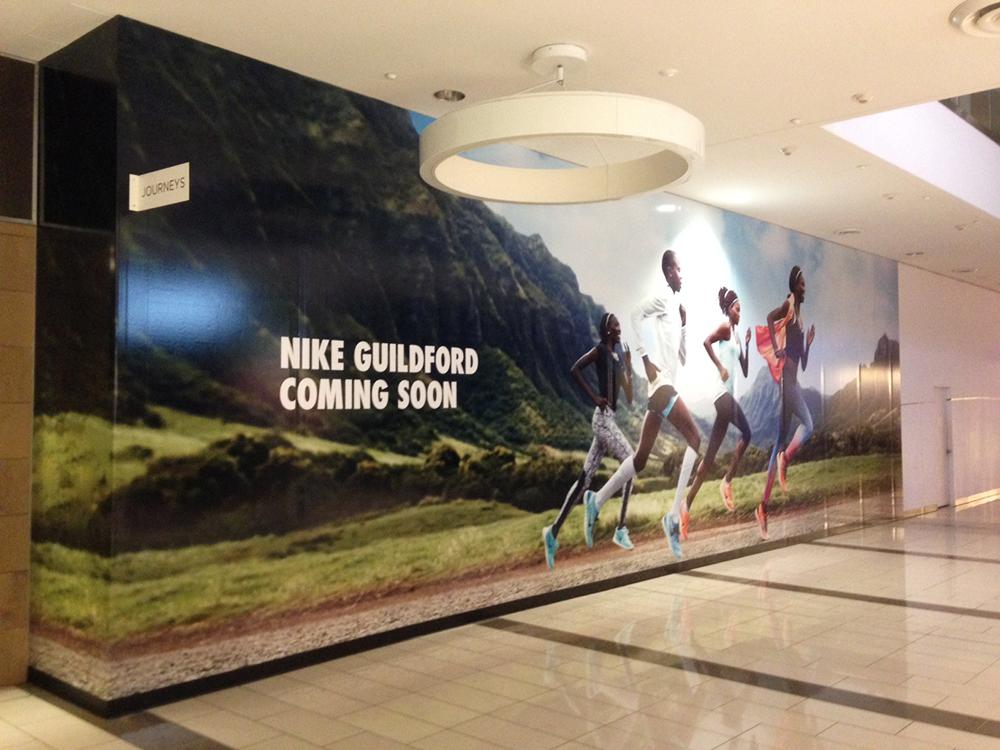 2016 Nike Store Hoarding