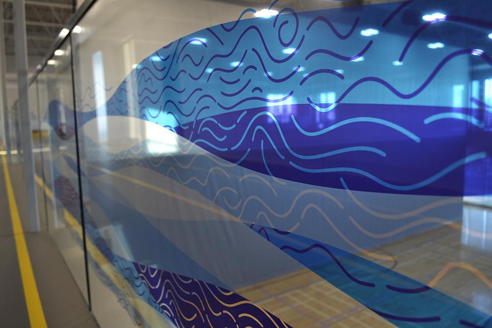 2016 Timms Centre Window Graphics