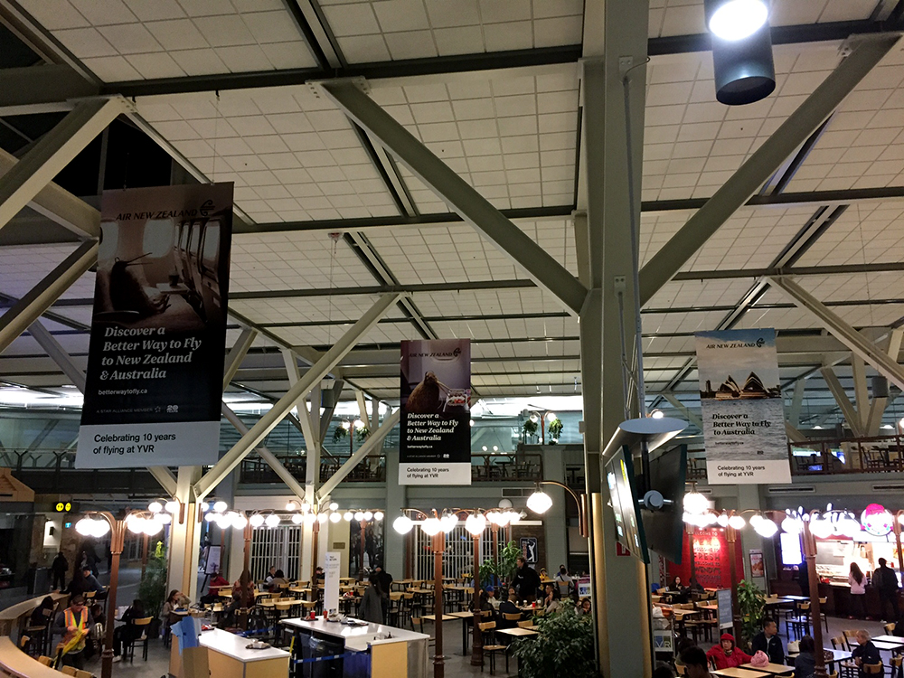 2017 YVR Food Court Banners