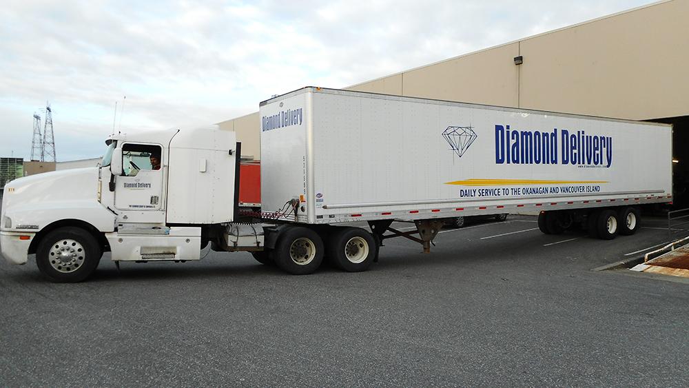 2018 Diamond Delivery Fleet Graphics