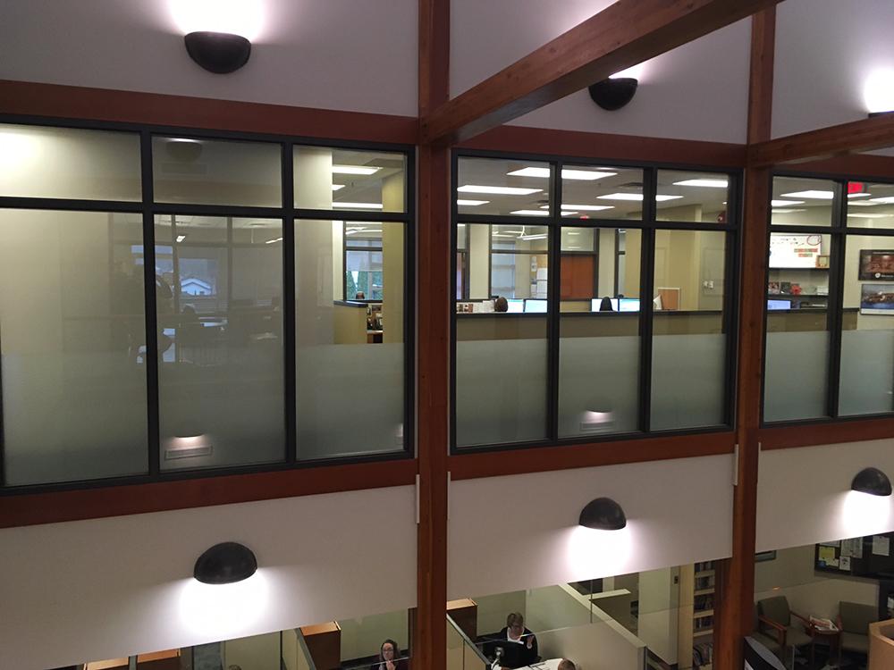 2018 Aldergrove Credit Union Office Window Graphics