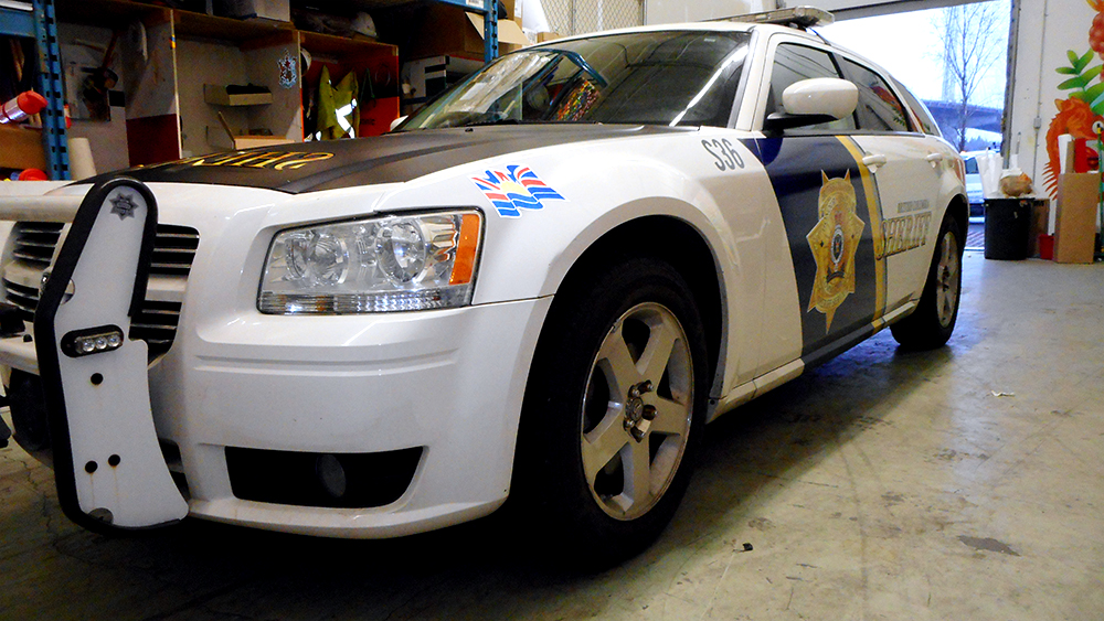 2018 Fleet Graphics Sheriff Vehicle