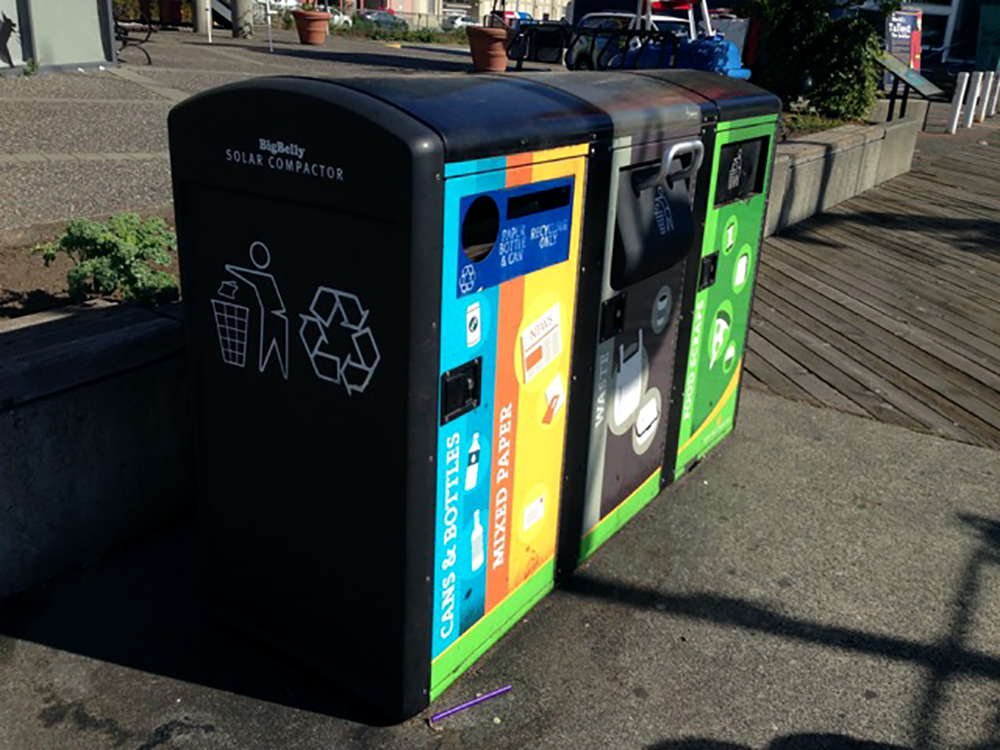 2018 City of New West Garbage Bin Wrap Graphics
