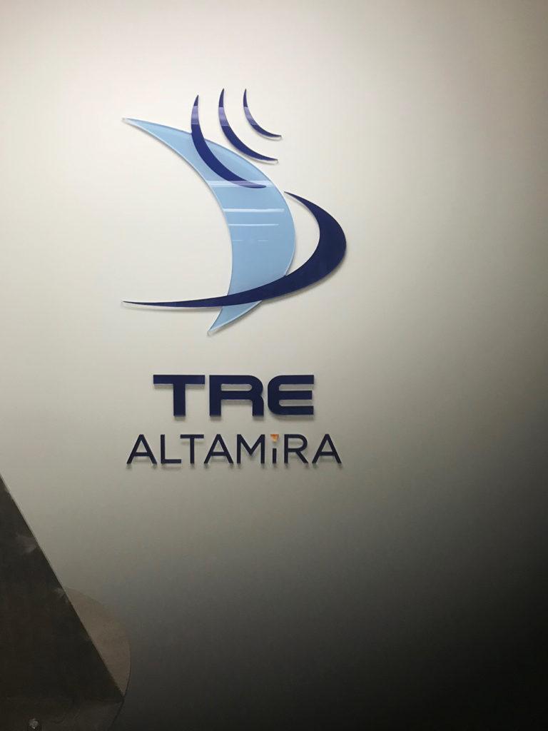 2018 Altamira Office Wall Signage