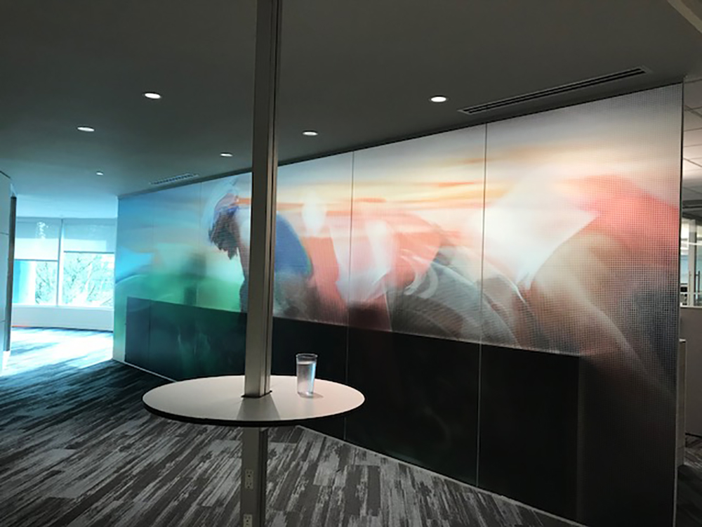 2018 Pacific Blue Cross Wall Graphic