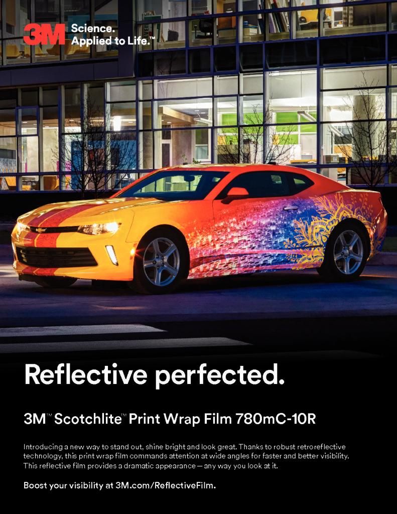 3M Flyer 3 Scotchlite Print Wrap Film 780mC-10R75-5100-2651