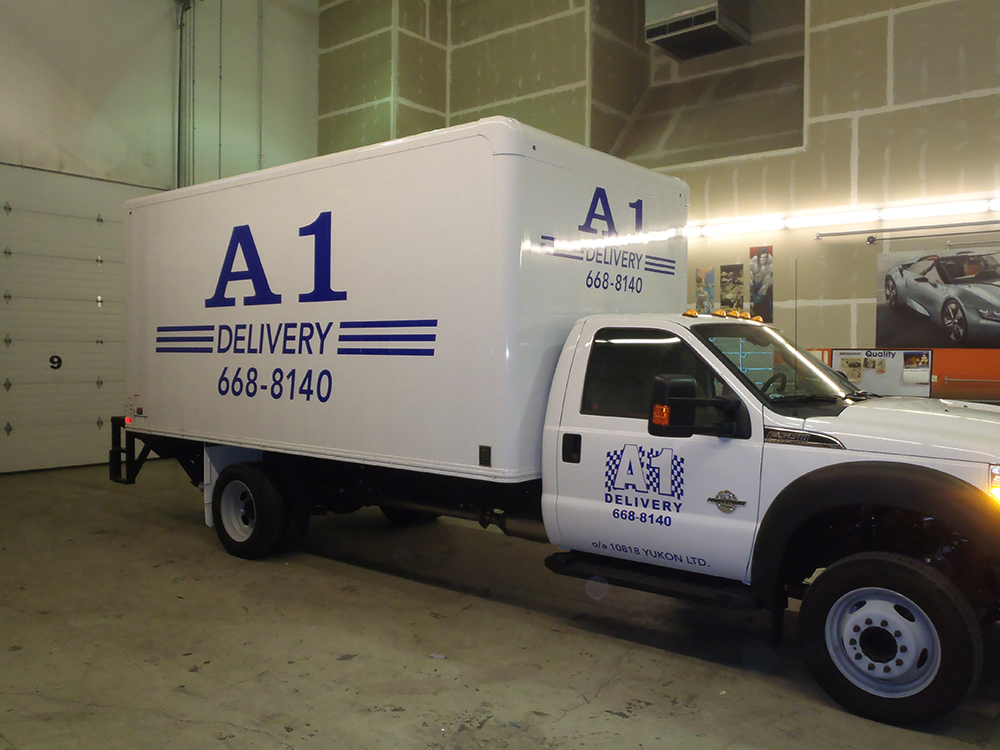 A1 Delivery Truck Decals 2015