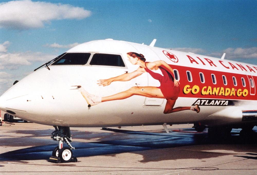 1996 Air Canada Plane Wrap