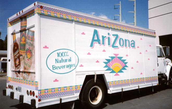 1997 Arizona Iced Tea Fleet Graphics