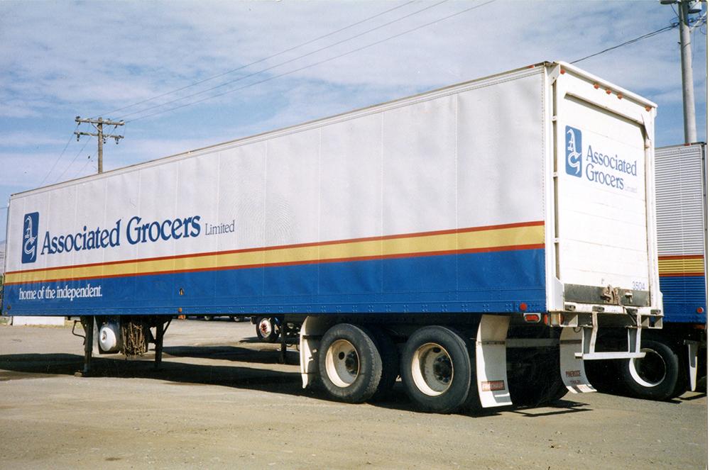 1995 Associated Grocers Fleet Graphics