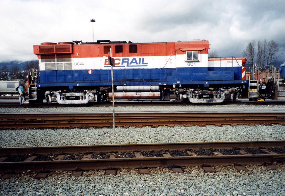 1990 BC Rail Train Wrap