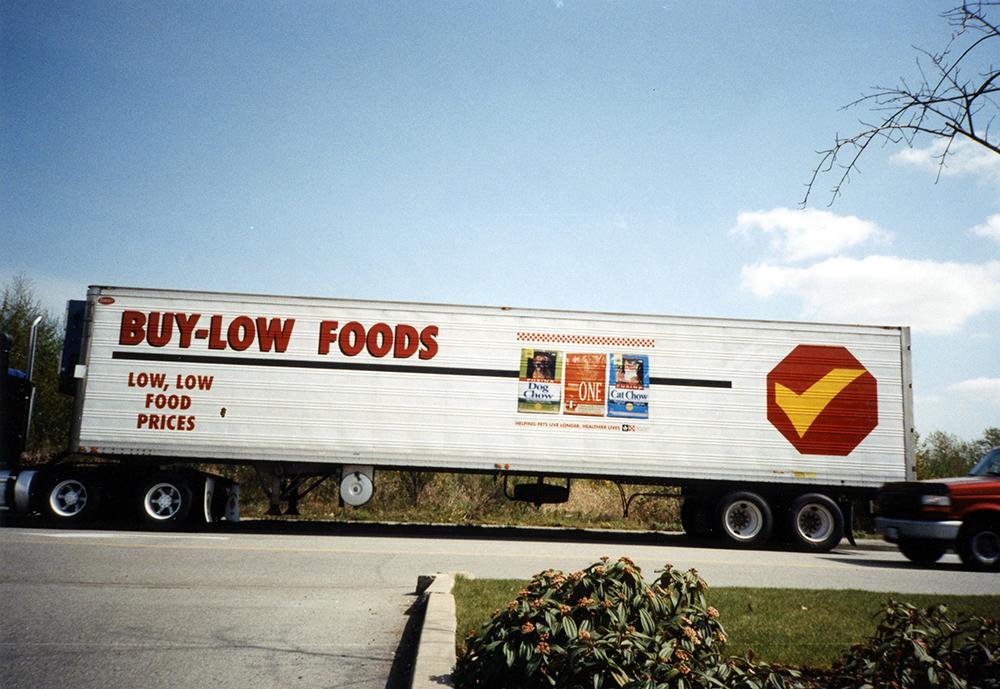1996 Buy-Low Foods Fleet Graphics