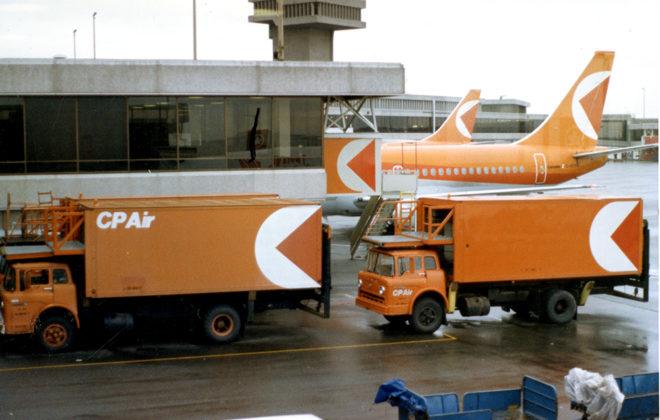 1983 CP Air Fleet Graphics