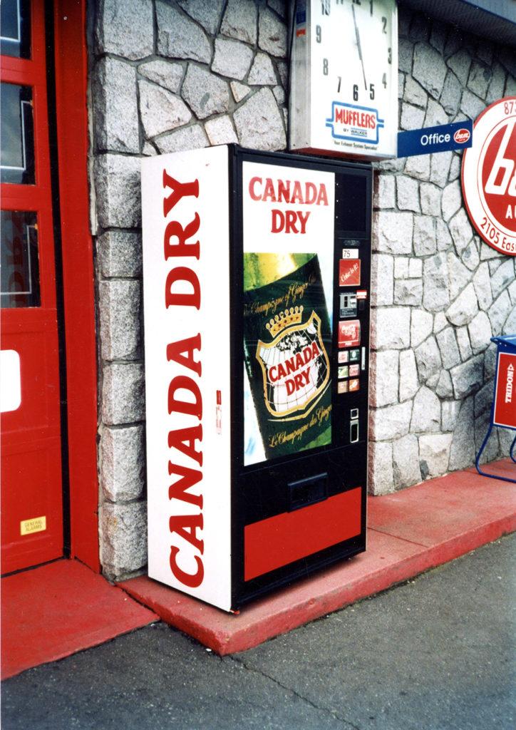 Mid 1980s Canada Dry Graphics