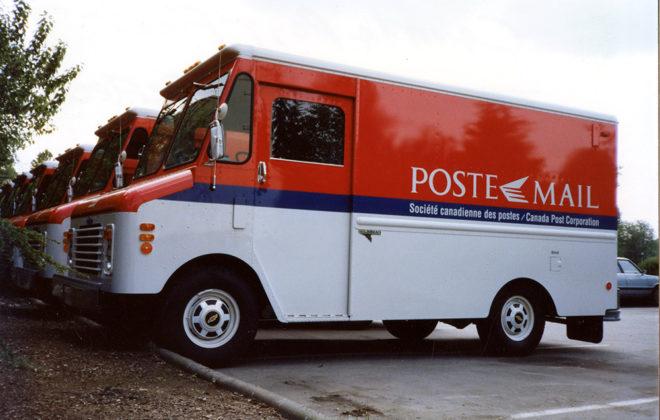 1998-2000 Canada Post Fleet Graphics