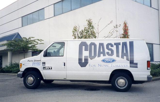 2005 Coastal Ford Fleet Graphics