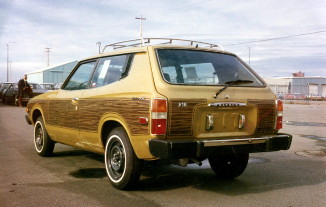 1978 Datsun F10 Woodgrain Vinyl Graphics