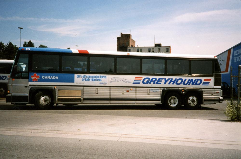 1986-1990 Greyhound Fleet Graphics