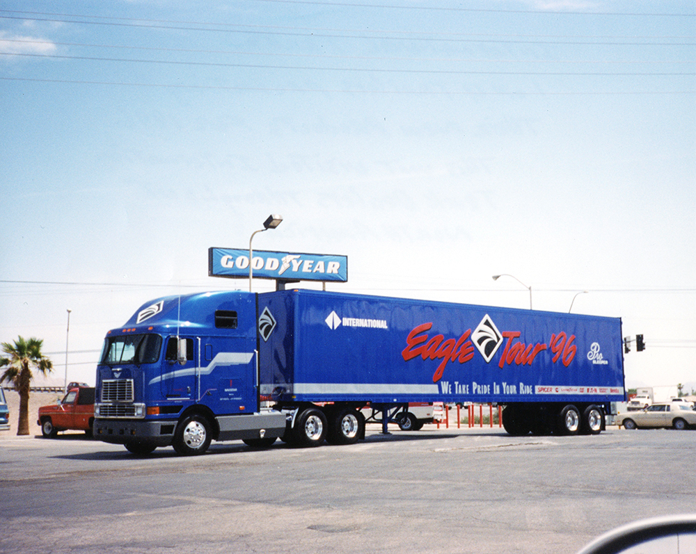 1996 International Trucks Fleet Graphics
