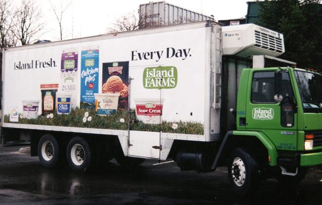 1995 Island Farms Fleet Graphics