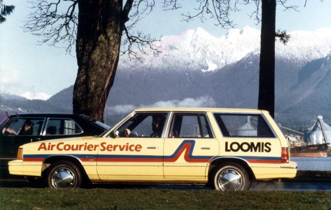 Mid 1980s Loomis Fleet Graphics