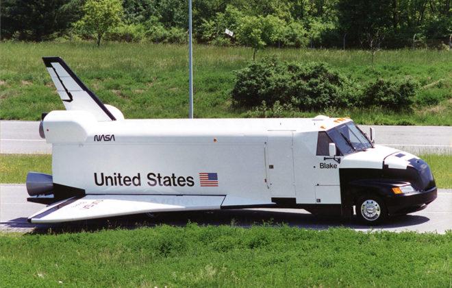 1995 NASA Fleet Graphics