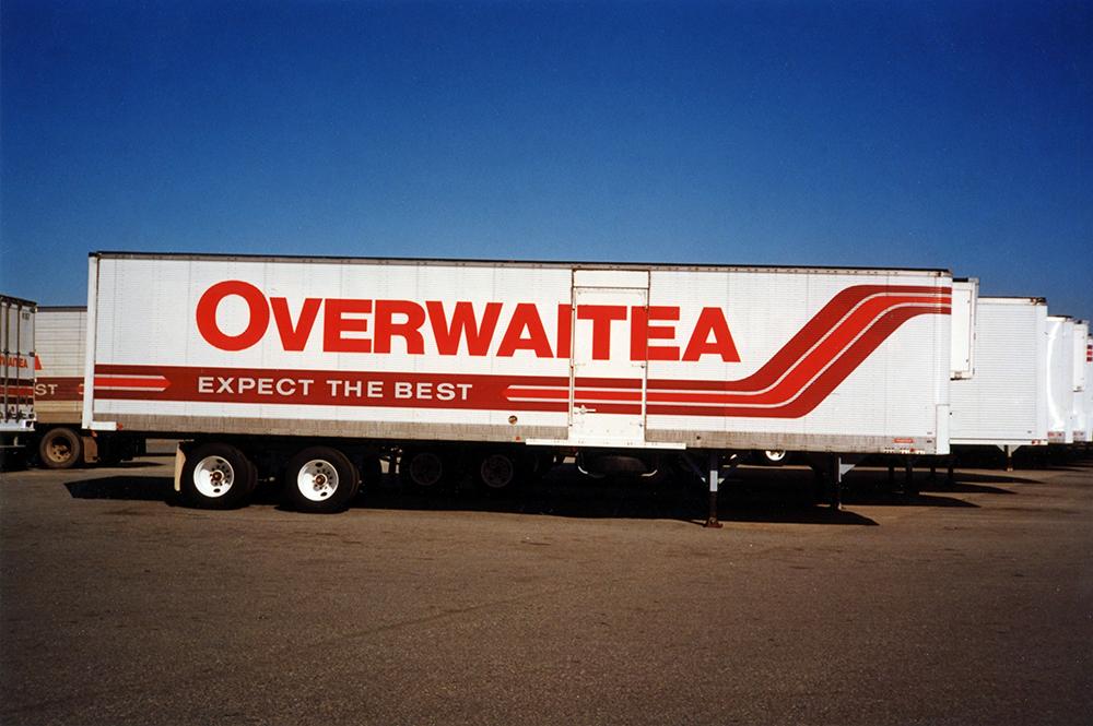 1990s Overwaitea Fleet Graphics