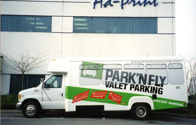 2000 Park 'N Fly Fleet Graphics