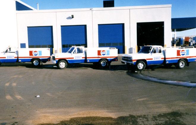 1990s Pepsi Fleet Graphics