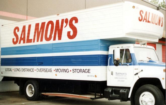 1995 Salmon's Transfer Fleet Graphics