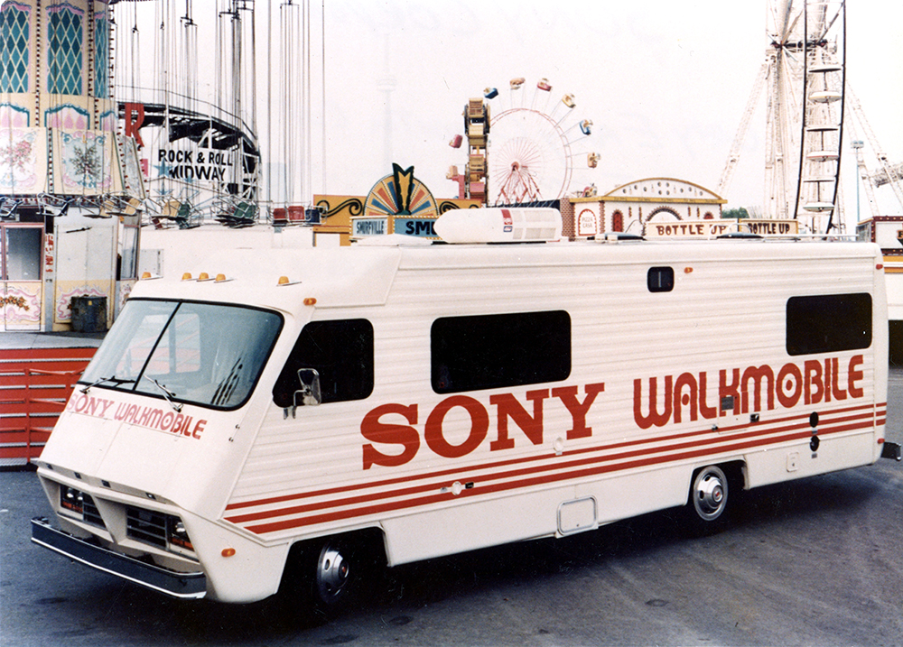 1981 Sony Fleet Graphics