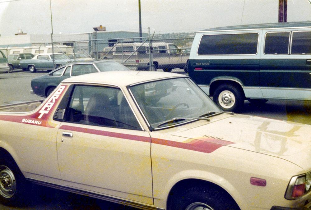 1978 Subaru Brat Screen Printed & Die Cut Vinyl Graphics