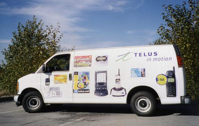 1999 Telus Fleet Graphics
