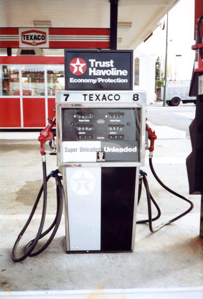 1985 Texaco Exterior Graphics