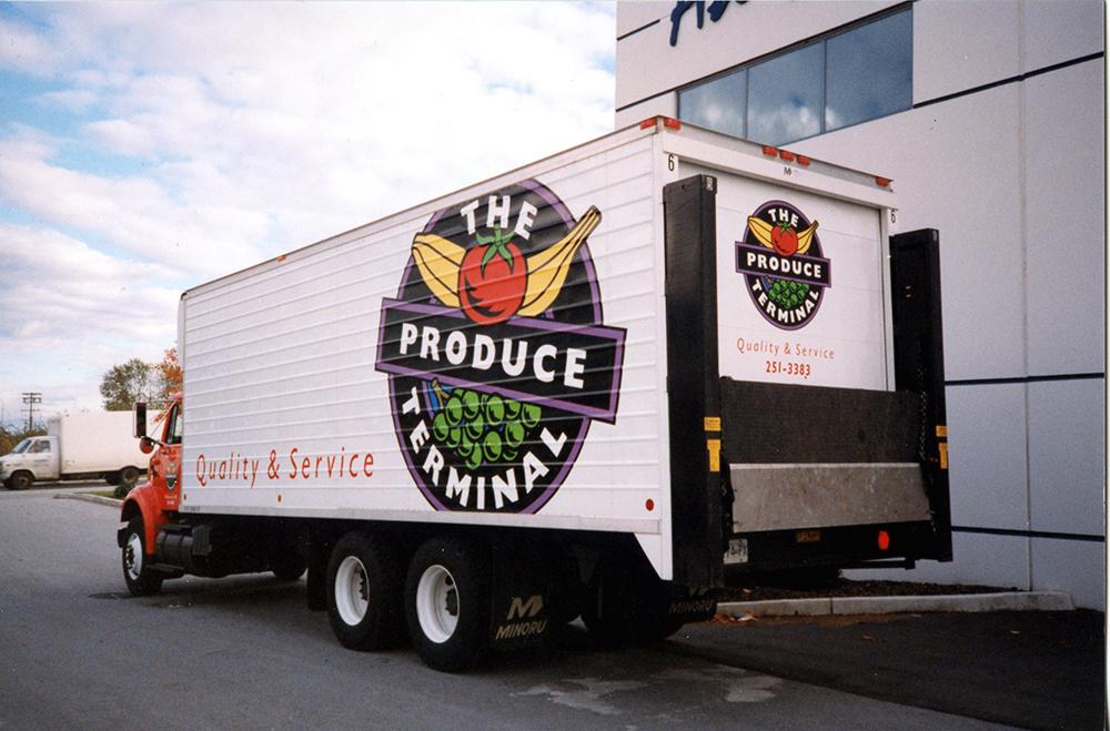 2001 The Produce Terminal Fleet Graphics