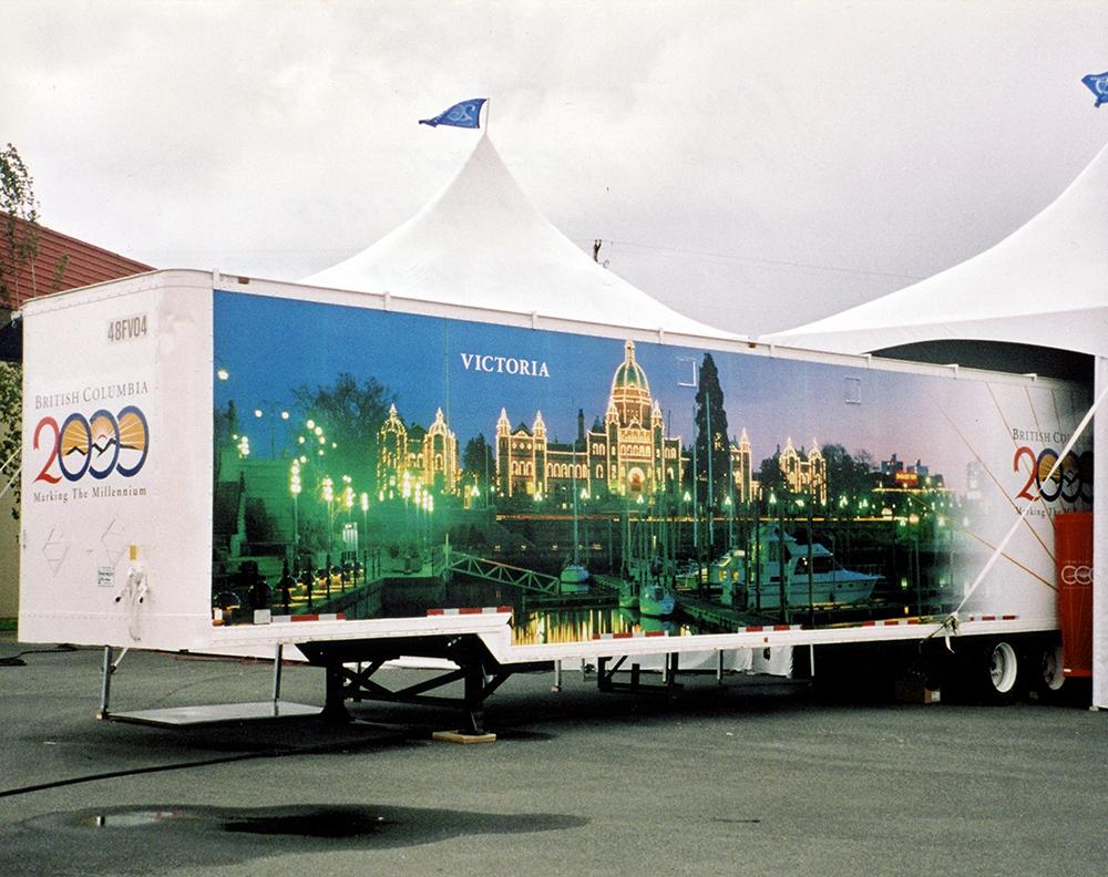 2000 Victoria BC Fleet Graphics