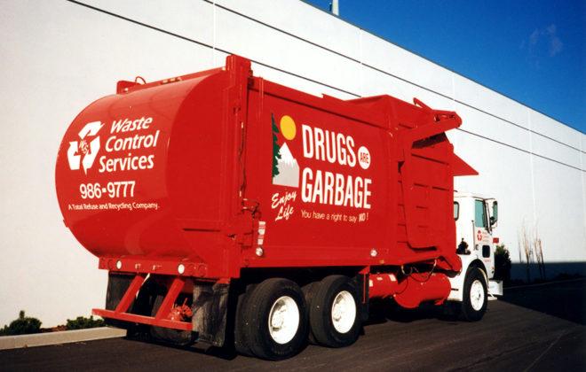 2003-2004 Waste Control Services Fleet Graphics
