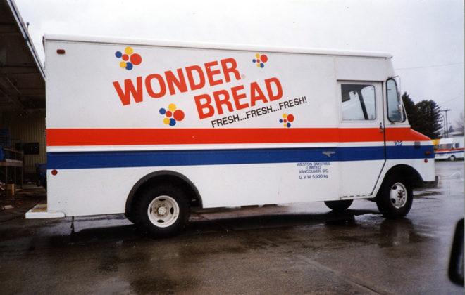 2002 Wonder Bread Fleet Graphics