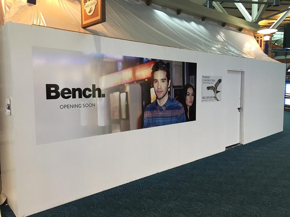 Bench Hoarding 2016