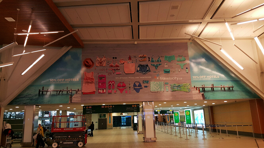 Travelocity Wall Mural 2016