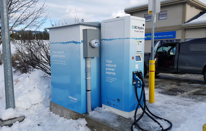 2017 BC Hydro Charging Station Wrap
