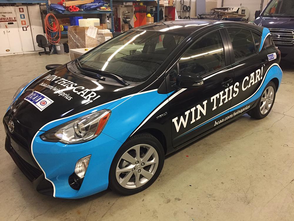 BCAA Car Wrap 2016