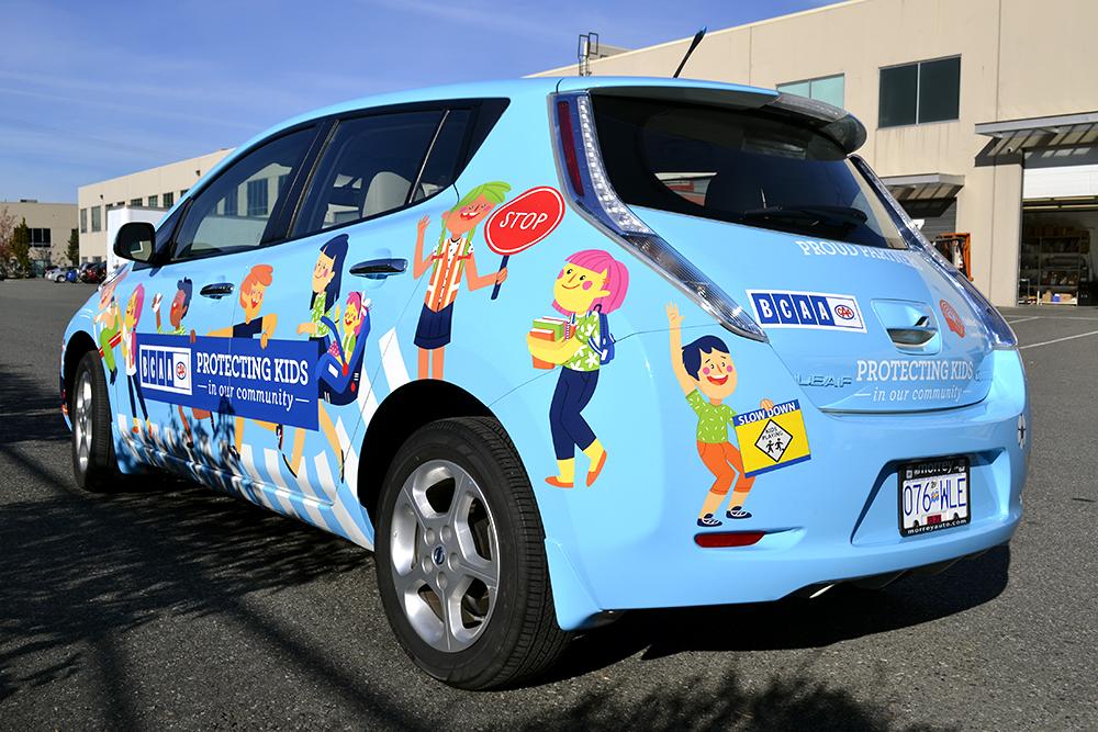 BCAA Community Schools Car Wrap 2015