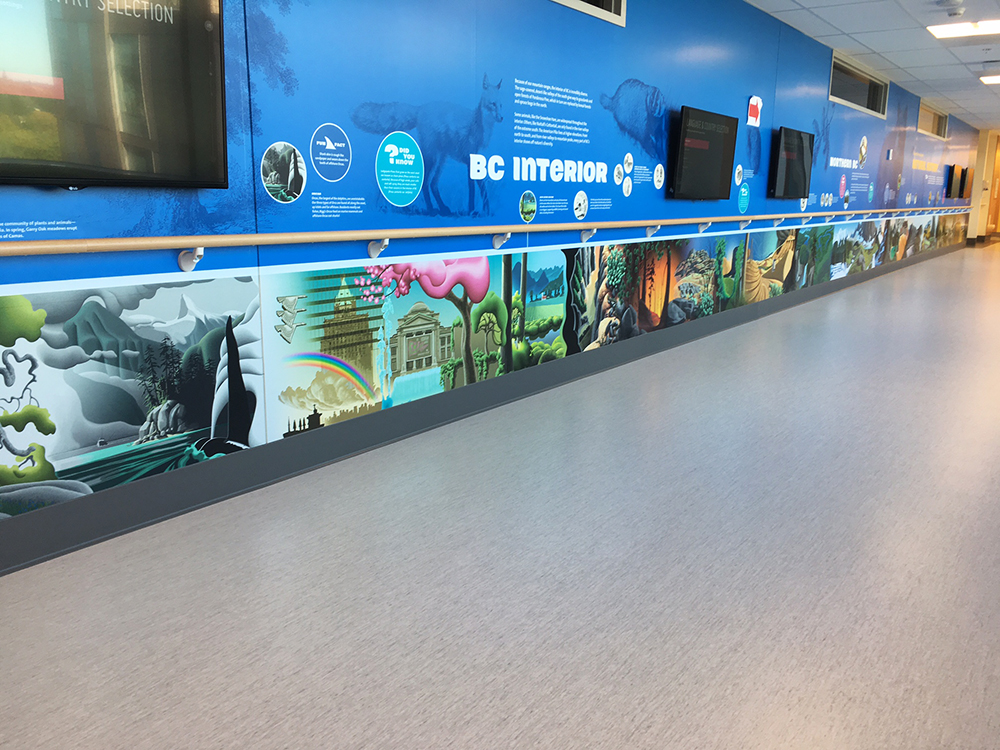 2017 BCCH Wall Graphics