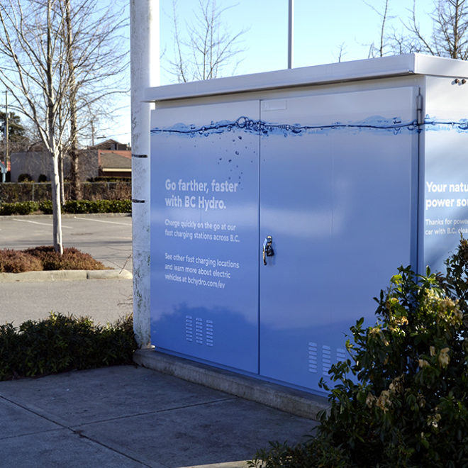 BC Hydro Utility Box Wrap
