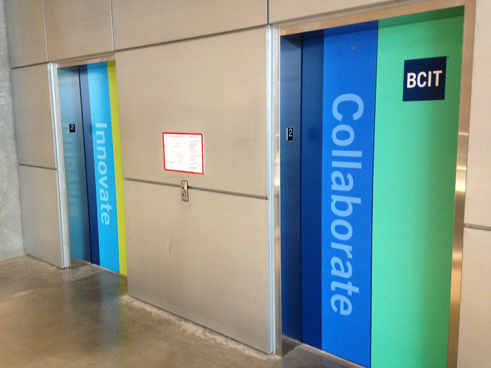 BCIT Elevator Graphic 2016
