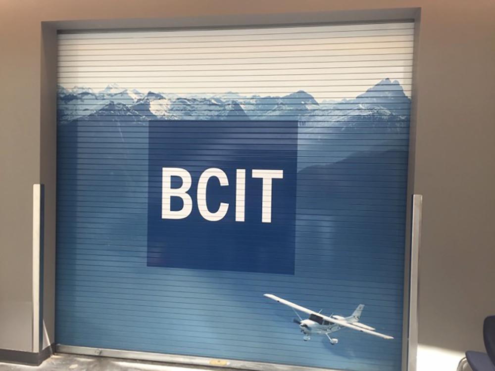 BCIT Hagar Door Graphic 2016