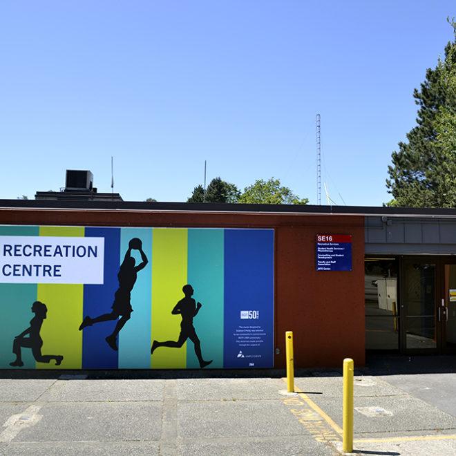 BCIT Exterior Mural